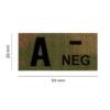 Kép 2/4 - Clawgear® A Neg IR Patch Multicam