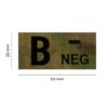 Kép 2/3 - Clawgear® B Neg IR Patch Multicam