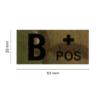 Kép 2/4 - Clawgear® B Pos IR Patch Multicam