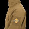 Kép 2/12 - Helikon-Tex® - GUNFIGHTER Jacket - Shark Skin Windblocker (Coyote)