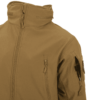 Kép 8/12 - Helikon-Tex® - GUNFIGHTER Jacket - Shark Skin Windblocker (Coyote)