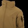 Kép 8/12 - Helikon-Tex® - GUNFIGHTER Jacket - Shark Skin Windblocker (Mud Brown)