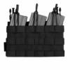 Kép 1/3 - Warrior Assault Systems® -   Recon Triple Open Mag Pouch (Black)