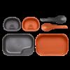 Kép 1/7 - Wildo® CAMP-A-BOX® DUO Light - Orange / Dark Grey A