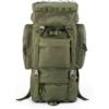 Kép 1/2 - Yakeda® A88018 65L Hátizsák (Army Green)