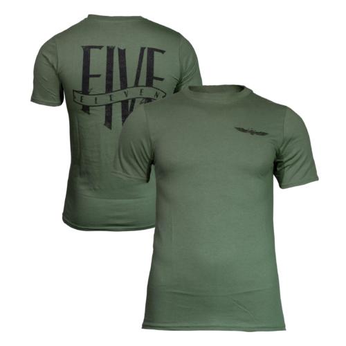 5.11 Tactical ® - T-SHIRT EMEA INSIGNIA (Olive Green)