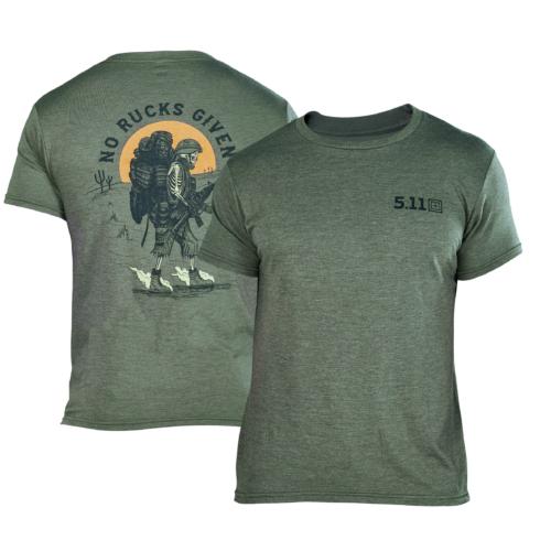5.11 Tactical ® - T-SHIRT NO RUCKS GIVEN (Olive Green)