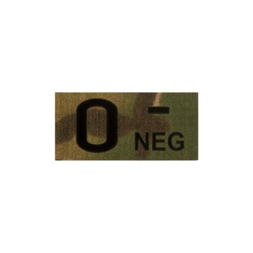 Clawgear® 0 Neg IR Patch Multicam