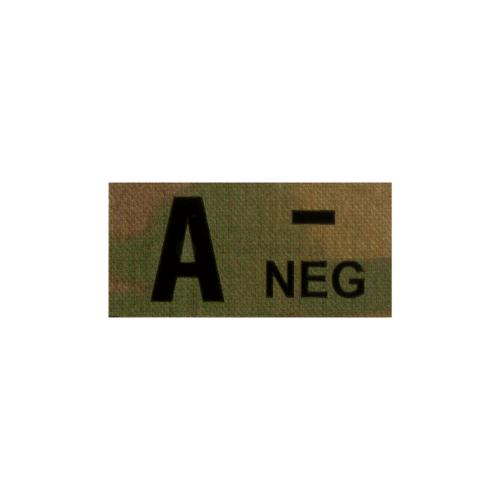 Clawgear® A Neg IR Patch Multicam
