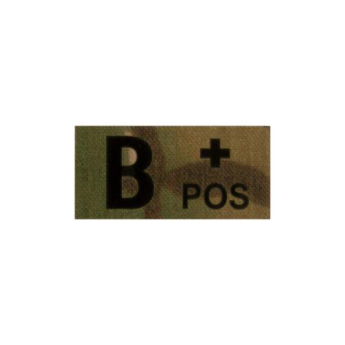 Clawgear® B Pos IR Patch Multicam