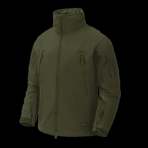 Helikon-Tex® - GUNFIGHTER Jacket - Shark Skin Windblocker (Olive Green)