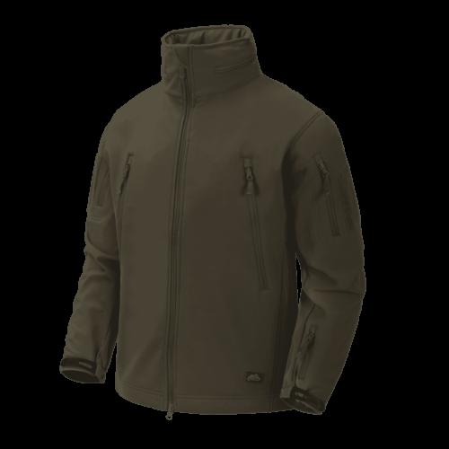 Helikon-Tex® - GUNFIGHTER Jacket - Shark Skin Windblocker (Taiga Green)