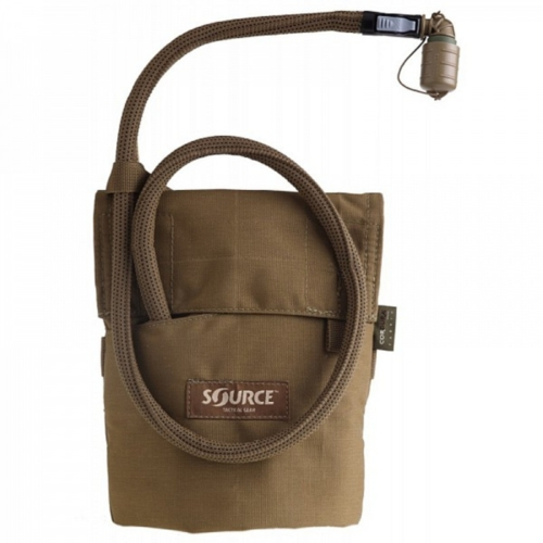 Source™ Kangaroo 1L Collapsible Canteen with Pouch (Coyote)