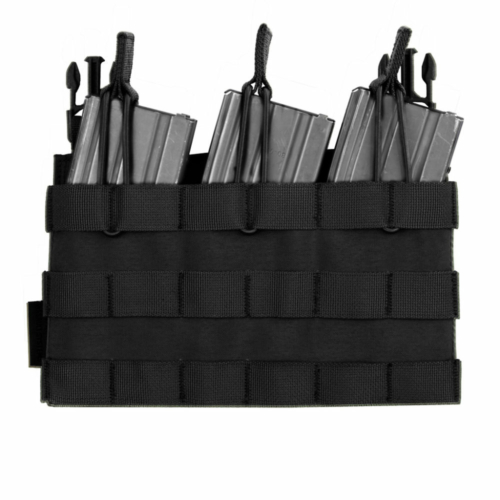 Warrior Assault Systems® -   Recon Triple Open Mag Pouch (Black)