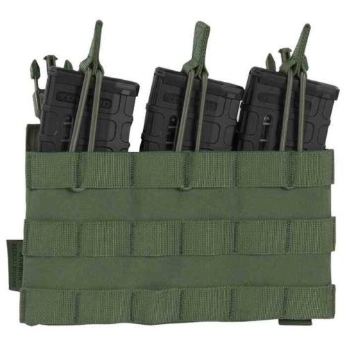Warrior Assault Systems® -   Recon Triple Open Mag Pouch (Olive Green)
