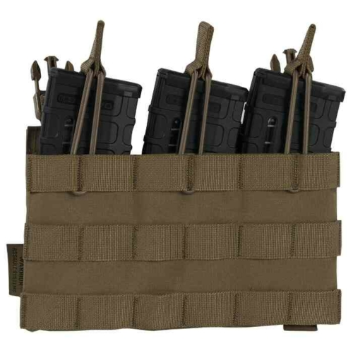 Warrior Assault Systems® -   Recon Triple Open Mag Pouch (Coyote)