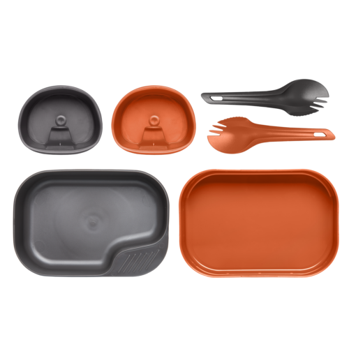 Wildo® CAMP-A-BOX® DUO Light - Orange / Dark Grey A