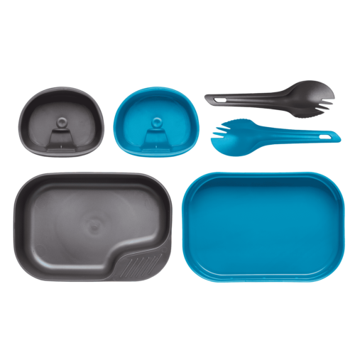 Wildo® CAMP-A-BOX DUO® Light - Light Blue / Dark Grey A